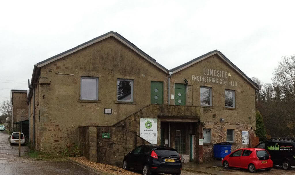 Hall Mill, part of the Lancaster Cohousing development